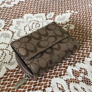 Coach Wallet with Change Slot